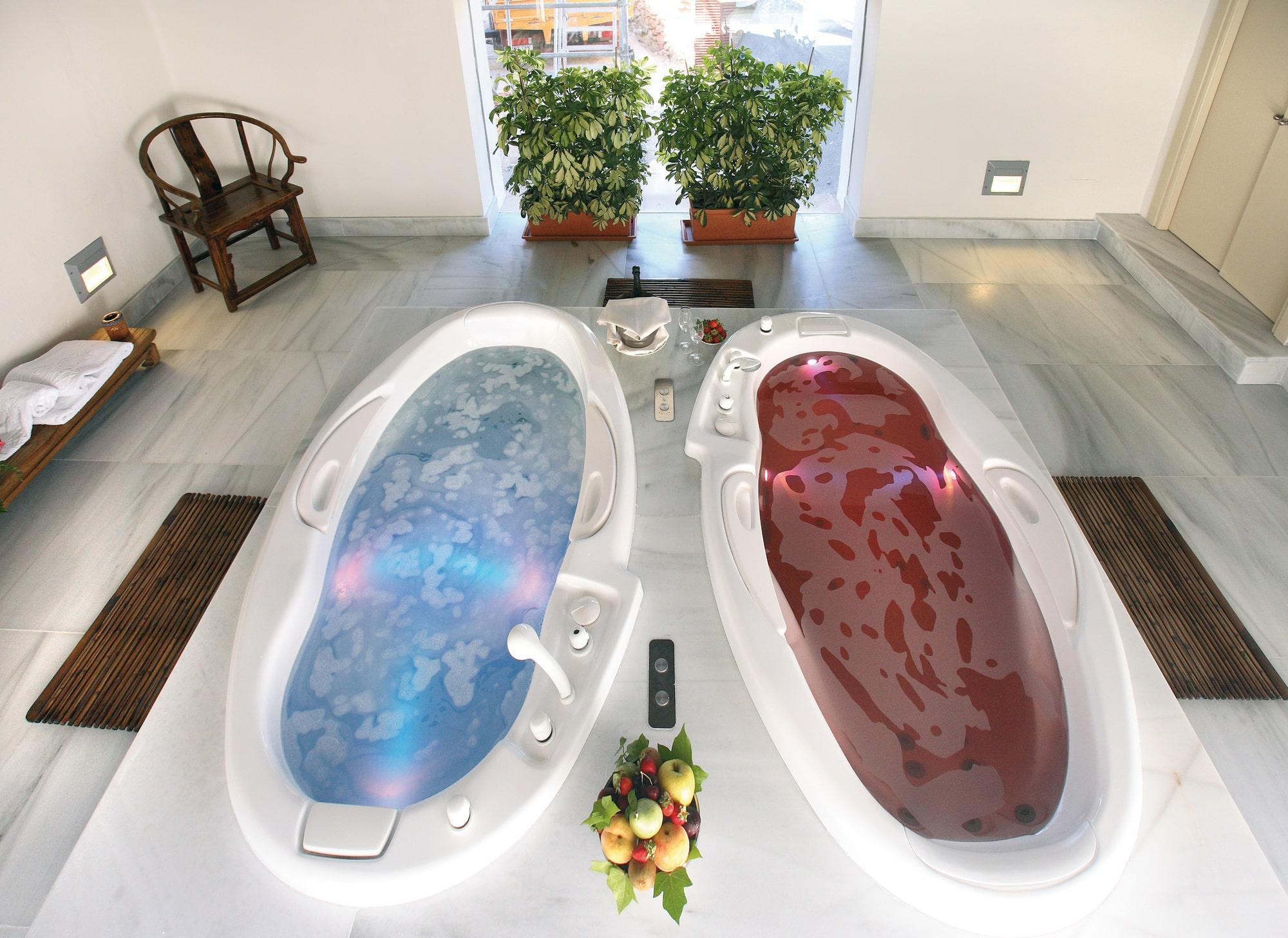 Baño Con Ducha Escocesa: ducha escocesa baño turco y ducha de esencias con cromoterapia